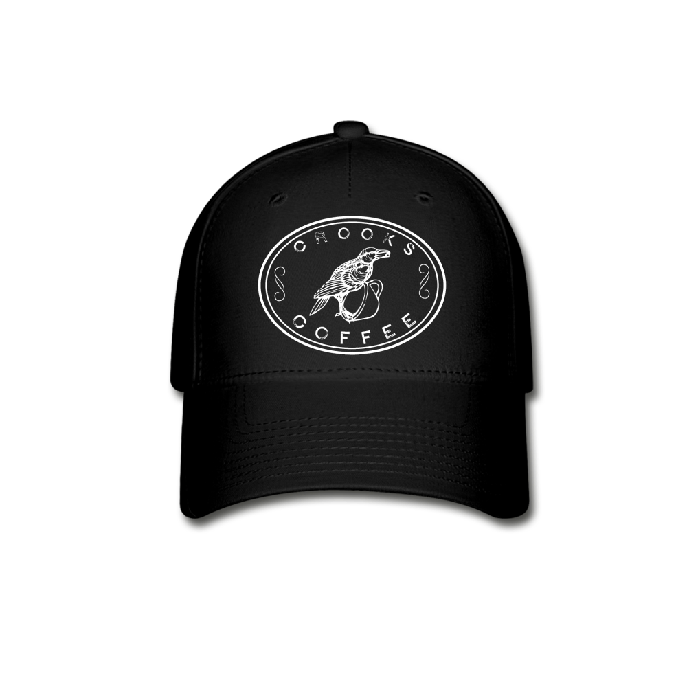 Crooks Coffee FlexFit Baseball Hat Image