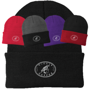 Assortment of Crooks Coffee Beanies