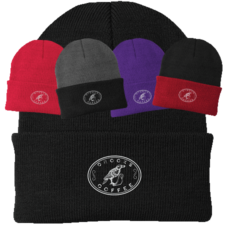 Crooks Coffee Embroidered Knit Cap Image