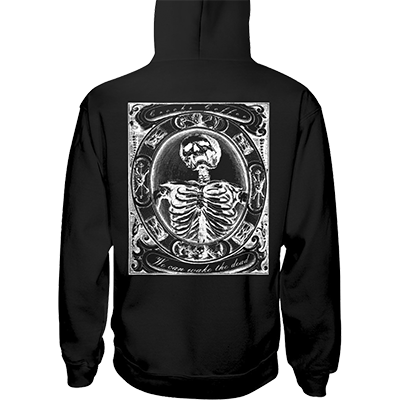 Crooks Coffee Skeleton Jerzees 50/50 Hoodie Image